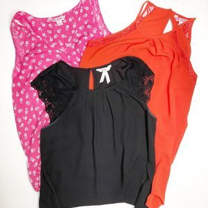 CANDIE'S Lot of Blouses